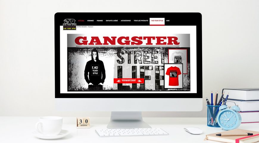 Site Web Tag Your Style