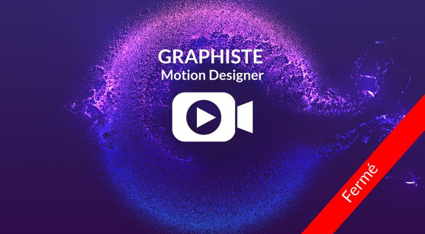 On cherche un(e) Graphiste Motion Designer